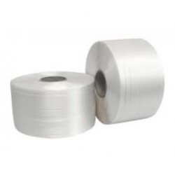 2 bobinas de fleje textil...